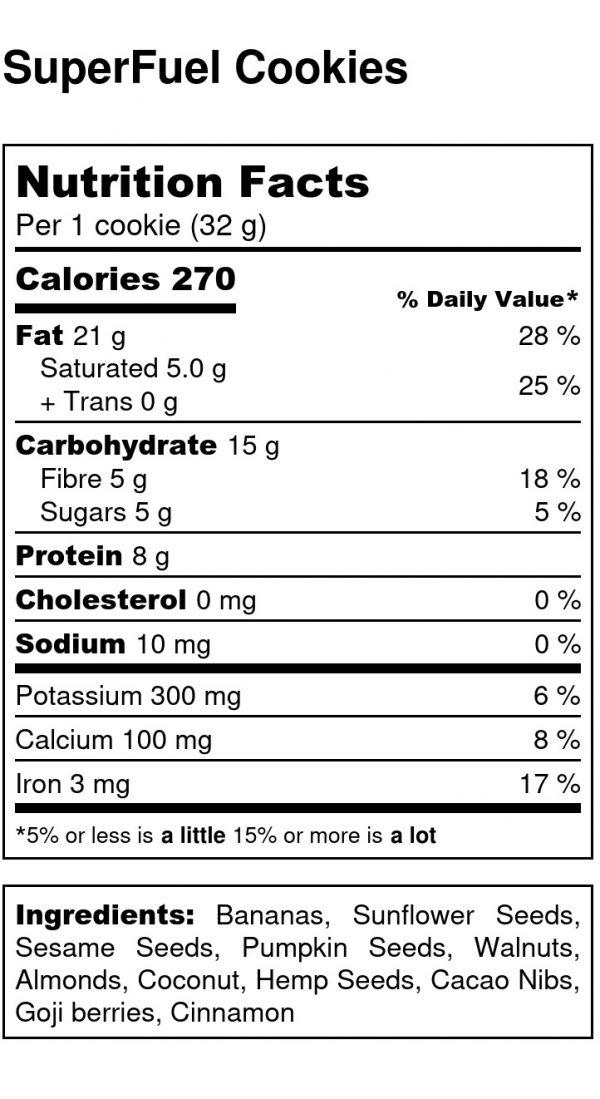 superfuel-cookies-nutritional-label
